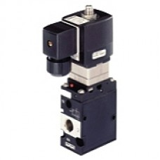 3/2-way Solenoid Valve  for pneumatics, servo-assisted