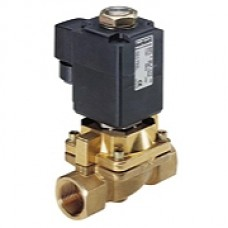 2/2-Way solenoid valve for steam up to 180 °C