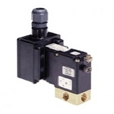 3/2-Way solenoid valve for aggressive Fluids