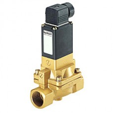 2/2-Way Solenoid Valve with Manual override